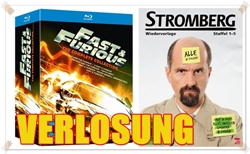 Verlosung Gewinnspiel Giveaway - Fast & Furious The Complete Collection & Stromberg Staffel 1 bis 5 - DVDs Blu-rays