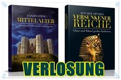 Verlosung Gewinnspiel Giveaway - Auf den Spuren versunkener Reiche & Faszination Mittelalter - Bücher Bestseller