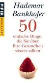50 einfache Dinge, die Sie über Ihre Gesundheit wissen sollten - deutsches Filmplakat - Film-Poster Kino-Plakat deutsch