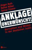 Anklage unerwünscht! - Korruption und Willkür in der deutschen Justiz - deutsches Filmplakat - Film-Poster Kino-Plakat deutsch