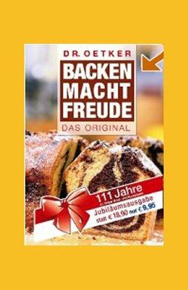 Backen macht Freude – Das Original – Dr. Oetker – Dr. Oetker – Bücher & Literatur Sachbücher Kochbuch – Charts & Bestenlisten
