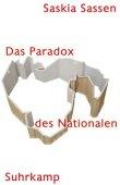 Das Paradox des Nationalen - Saskia Sassen, Ulrich Beck - Suhrkamp