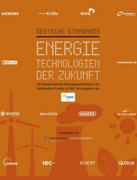 Deutsche Standards – Energietechnologien der Zukunft – VDMA – Deutsche Standards Editionen / Gabler (GWV) – Bücher (Bildband) Sachbücher Forschung & Wissen – Charts & Bestenlisten