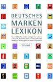 Deutsches Markenlexikon - Florian Langenscheidt - Gabler (GWV)