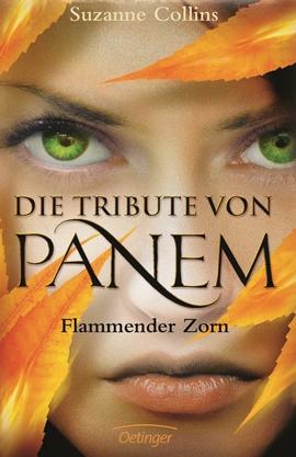 Die Tribute von Panem – Flammender Zorn – deutsches Filmplakat – Film-Poster Kino-Plakat deutsch