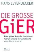 Die große Gier - Korruption, Kartelle, Lustreisen - deutsches Filmplakat - Film-Poster Kino-Plakat deutsch