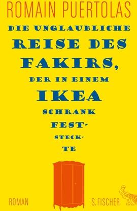 Die unglaubliche Reise des Fakirs, der in einem Ikea-Schrank feststeckte – deutsches Filmplakat – Film-Poster Kino-Plakat deutsch