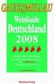 Gault Millau WeinGuide Deutschland 2008 - deutsches Filmplakat - Film-Poster Kino-Plakat deutsch
