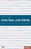 Letzte Tänze, erste Schritte - Deutsche Literatur der Gegenwart - deutsches Filmplakat - Film-Poster Kino-Plakat deutsch