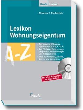 Lexikon Wohnungseigentum – mit CD-ROM – Alexander C. Blankenstein – Haufe Verlag – Bücher (Bildband) Sachbücher Lexikon – Charts & Bestenlisten
