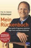 Mein Rückenbuch – Das sanfte Programm zwischen High Tech und Naturheilkunde – deutsches Filmplakat – Film-Poster Kino-Plakat deutsch