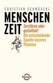Menschenzeit - Zerstören oder gestalten? - deutsches Filmplakat - Film-Poster Kino-Plakat deutsch