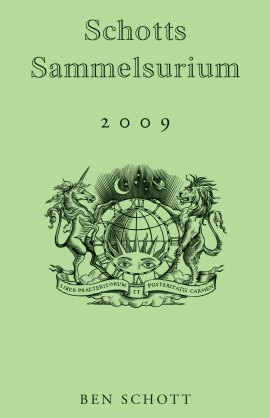 Schotts Sammelsurium 2009 – Ben Schott – Bloomsbury (Berlinverlage) – Bücher & Literatur Sachbücher Lexikon, Allgemeinbildung – Charts & Bestenlisten