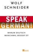 Speak German! - Warum Deutsch manchmal besser ist - deutsches Filmplakat - Film-Poster Kino-Plakat deutsch