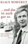 Und das ist auch gut so - Mein Leben für die Politik - deutsches Filmplakat - Film-Poster Kino-Plakat deutsch