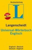 Langenscheidt Universal-Wörterbuch Englisch - Englisch-Deutsch / Deutsch-Englisch. Völlig neubearbeitete Ausgabe - Langenscheidt-Redaktion - Wörterbuch, Englisch - Langenscheidt