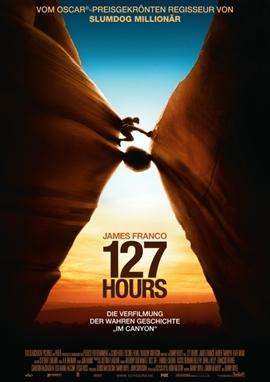 127 Hours – deutsches Filmplakat – Film-Poster Kino-Plakat deutsch