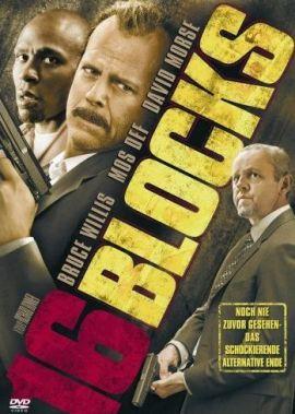 16 Blocks – deutsches Filmplakat – Film-Poster Kino-Plakat deutsch