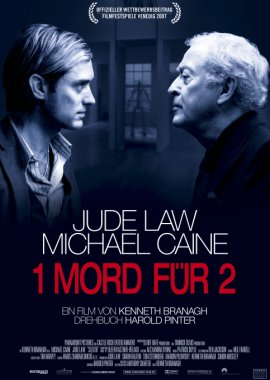 1 Mord für 2 – Michael Caine, Jude Law, Harold Pinter – Kenneth Branagh – Filme, Kino, DVDs Kinofilm Mysterythriller – Charts & Bestenlisten