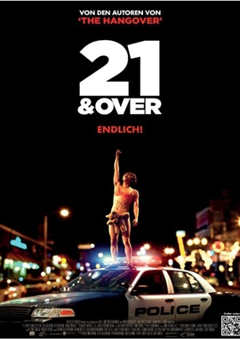 21 And Over – deutsches Filmplakat – Film-Poster Kino-Plakat deutsch