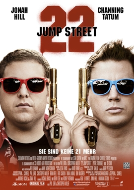 22 Jump Street – deutsches Filmplakat – Film-Poster Kino-Plakat deutsch