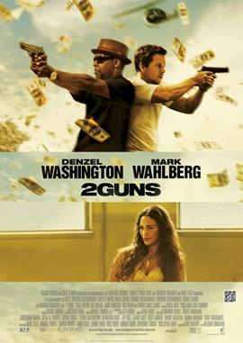 2 Guns – deutsches Filmplakat – Film-Poster Kino-Plakat deutsch
