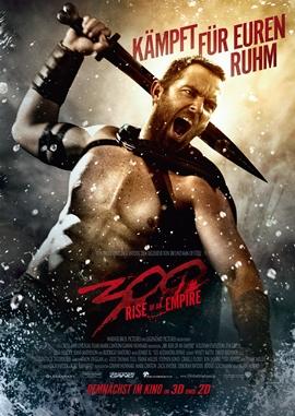 300 – Rise of an Empire – deutsches Filmplakat – Film-Poster Kino-Plakat deutsch