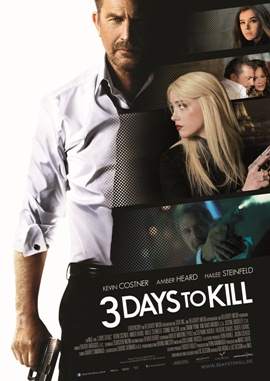 3 Days To Kill – deutsches Filmplakat – Film-Poster Kino-Plakat deutsch