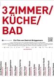 3 Zimmer Küche Bad – deutsches Filmplakat – Film-Poster Kino-Plakat deutsch