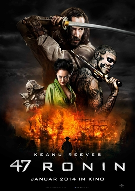 47 Ronin – deutsches Filmplakat – Film-Poster Kino-Plakat deutsch