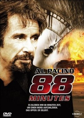 88 Minutes – Al Pacino, Alicia Witt, Amy Brenneman, Neal McDonough, Leelee Sobieski, William Forsythe – Jon Avnet – Filme, Kino, DVDs Kinofilm Thriller – Charts & Bestenlisten