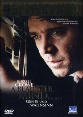 A Beautiful Mind – Genie und Wahnsinn – deutsches Filmplakat – Film-Poster Kino-Plakat deutsch
