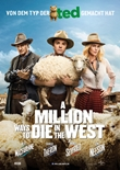 A Million Ways to Die in the West – deutsches Filmplakat – Film-Poster Kino-Plakat deutsch