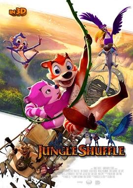 Ab durch den Dschungel – deutsches Filmplakat – Film-Poster Kino-Plakat deutsch