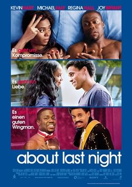 About Last Night – deutsches Filmplakat – Film-Poster Kino-Plakat deutsch