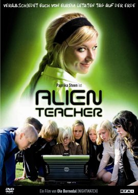 Alien Teacher – deutsches Filmplakat – Film-Poster Kino-Plakat deutsch