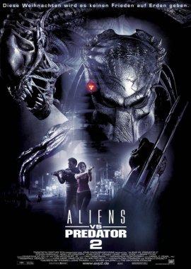 Aliens vs. Predator 2 – deutsches Filmplakat – Film-Poster Kino-Plakat deutsch