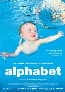 Alphabet – deutsches Filmplakat – Film-Poster Kino-Plakat deutsch