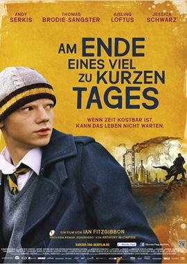 Am Ende eines viel zu kurzen Tages – deutsches Filmplakat – Film-Poster Kino-Plakat deutsch