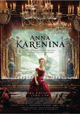 Anna Karenina – deutsches Filmplakat – Film-Poster Kino-Plakat deutsch