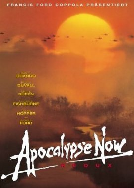 Apocalypse Now – deutsches Filmplakat – Film-Poster Kino-Plakat deutsch