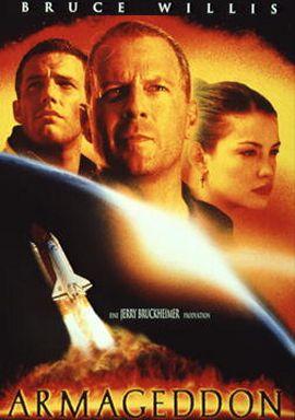 Armageddon – Das Jüngste Gericht – deutsches Filmplakat – Film-Poster Kino-Plakat deutsch