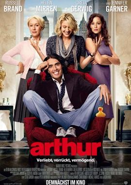 Arthur – deutsches Filmplakat – Film-Poster Kino-Plakat deutsch