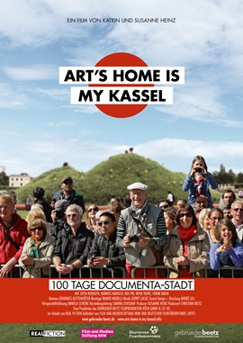 Art's Home is my Kassel – deutsches Filmplakat – Film-Poster Kino-Plakat deutsch