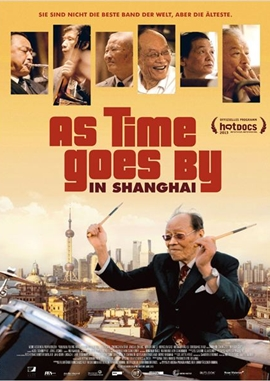 As Time Goes By in Shanghai – deutsches Filmplakat – Film-Poster Kino-Plakat deutsch