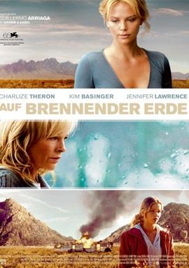 Auf brennender Erde – deutsches Filmplakat – Film-Poster Kino-Plakat deutsch