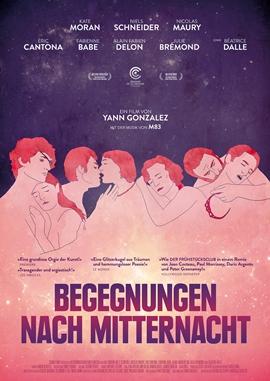 Begegnungen nach Mitternacht – deutsches Filmplakat – Film-Poster Kino-Plakat deutsch