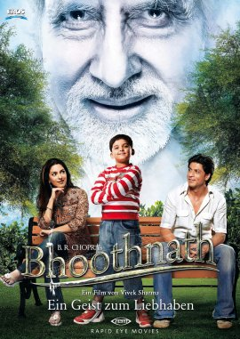 Bhoothnath – Ein Geist zum Liebhaben – Shah Rukh Khan, Amitabh Bachchan, Juhi Chawla, Aman Siddiqui, Shaana Diya, Lalit Parashar – Vivek Sharma – Bollywood – Filme, Kino, DVDs Kinofilm Familienkomödie – Charts & Bestenlisten