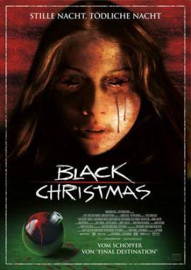 Black Christmas – Stille Nacht, tödliche Nacht – deutsches Filmplakat – Film-Poster Kino-Plakat deutsch