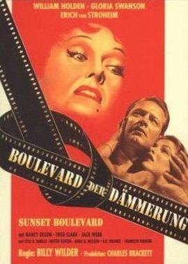 Boulevard der Dämmerung – deutsches Filmplakat – Film-Poster Kino-Plakat deutsch